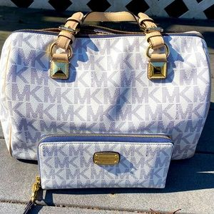 Michael Kors Speedy bag and wallet {AUTHENTIC}